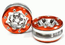 Billet Machined Off-Road 1.9 Size Wheel (2) for Scale Crawler (new, scratch)