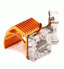 Twin Motor Cooling Fan + Heatsink 540/550