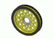 3Racing Aluminum Diff. Pulley Gear T41
