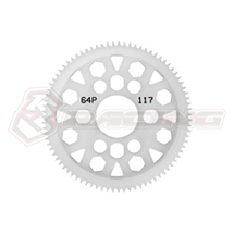 64 Pitch Spur Gear 117T Ver.2