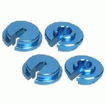 3Racing Aluminum Bottom Spring Caps for RC18
