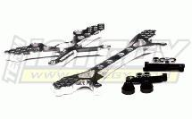 Billet Machined Type III Front & Rear Shock Tower Set for HPI 5B, 5B2.0 & 5T