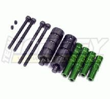 Extended EXT Hardware+Part for Long Suspension Linkage Setup on Axial AX10
