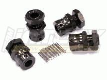 17mm Hex Hub (4) for 1/8 Buggy & Off-road +12mm Offset