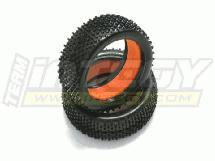 1/8 Buggy H-Tire (2) w/ Hard Molded Insert (O.D.=110mm)