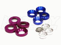 Billet Machined M3, M4 & M5 Concave Washer Kit 12pcs