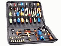 Titanium Nitride Complete 31pcs Racing Tool Set w/ Pro Carrying Bag