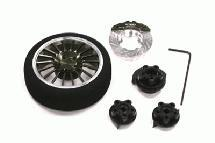 Evolution IV Steering Wheel Set for TRX, HPI, Futaba, Airtronics, Hitec & KO