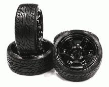 Type XI Complete Wheel & Tire Set (4) for Drift Racing