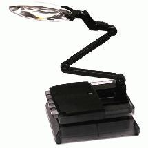 Universal Workstation Car Stand w/ LED Light & Magnifying Len