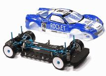 V2 Full Hop-Up Modified 1/10 Size 4WD Shaft Drive Touring Car