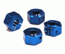 12mm Hex Wheel Hub (7mm Thickness) for 1/10 Touring Car and Drifting