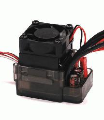 Type II Rock Crawler ESC w/ Drag Brake + Fan (Limit: 55T Motors & 7.2V Input)