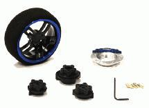 Evolution XII Steering Wheel Set for Most HPI, Futaba, Airtronics, Hitec & KO