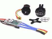 300W Outrunner+ESC System for GWS Type War Bird 2S-4S