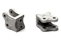 Billet Machined Alloy Type II Lower Suspension Link Mounts for Axial Wraith 2.2