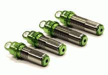 Billet Machined Threaded Shock Body (4) for Axial 1/10 EXO Off-Road