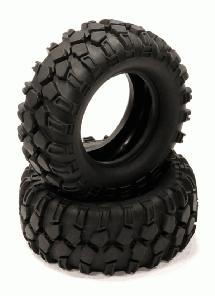 1.9 Size All Terrain (2) Off-Road Tires Type VI (O.D.=90mm)