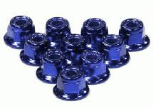 Color Flanged Lock Nut (10) 5mm Size