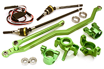 V2 4WS Conversion Kit for Axial 1/10 Wraith 2.2