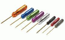 Color Coded Multi-Size Handle Wrench 8pcs Set Ti-Nitride Allen Hex