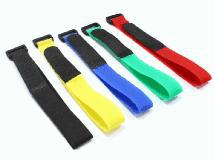 Multicolor 300mm Battery Strap (5) for RC Car, Boat, Helicopter & Airplane