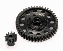 Billet Machined Steel Gear Set 44T+11T for Axial 1/10 Off-Road EXO Terra Buggy