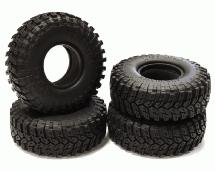 1.9 Size All Terrain (4) Tires Tire Type X for 1/10 Scale Crawler (O.D.=112mm)