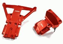 Machined Front & Rear Bulkhead for Traxxas Rustler 4X4 & Slash 4X4 LCG Chassis