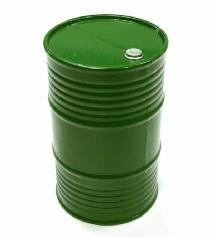 Realistic Plastic 1/10 Scale 55 Gallon Drum / Container / Barrel