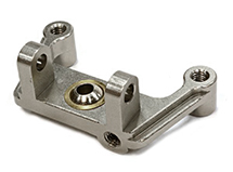 Billet Machined Front Suspension Roll Mount for Axial SCX-10 Scale Crawler