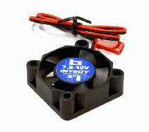 30x30x10mm High Speed Cooling Fan w/ JST 2P Plug for 7.2-to-12VDC Input