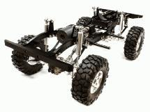 Billet Machined 1/10 Type D90 Roller 4WD Off-Road Scale Crawler ARTR