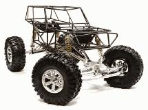 C25798SILVER 1/10 VFX2.2 Trail Racer 4WD Scale Crawler ARTR (new, defects)