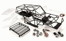 Realistic Scale VFX2.2 Roll Cage Tube Frame Chassis Set for 1/10 Axial Wraith2.2