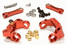Billet Machined Caster Blocks & Upper Links for Tamiya Scale Off-Road CC01