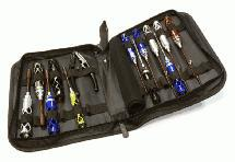16pcs Competition Tool Set w/ Carrying Bag for 1/8 & 1/10 Size Monster Truck