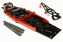 Billet Machined Complete LCG Chassis Conversion Kit for Traxxas 1/10 Slash 2WD