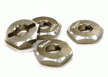 12mm Hex Wheel (4) Hub 3mm Thick for 1/10 Axial, Tamiya, TC & Drift