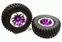 10H Composite 1.9 Wheel w/ Alloy Ring & Tire (2) for Scale Crawler (O.D.=97mm)