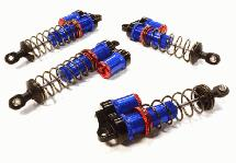 Billet Machined Piggyback Shock Set for 1/10 Traxxas Rustler 2WD & Bandit VXL