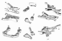 Billet Machined Suspension Kit for Traxxas 1/10 Bandit