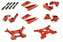 Billet Machined Stage 1 Suspension Kit for Traxxas 1/10 Slash 4X4 LCG