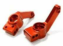 Billet Machined Rear Hub Carriers for Traxxas 1/10 Rustler 4X4 & Slash 4X4 LCG