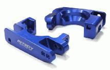 Billet Machined Caster Block (2) for Traxxas 1/10 Rustler 4X4 & Slash 4X4 LCG