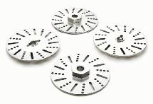 Billet Machined Alloy Brake Discs for Most 2.2 Size 1/10 Scale Crawler