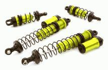Billet Machined Piggyback Shock Set for Vaterra Twin Hammers 1.9 Rock Racer