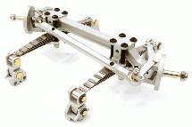 Billet Machined T4 Front Beam w/ Suspension Kit for Custom 1/14 Semi-Tractor