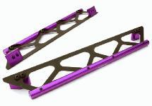 Machined Side Protection Nerf Bars for Traxxas X-Maxx 4X4