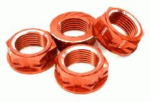 Machined Serrated 24mm Hex Wheel Nut (4) for 1/5 Losi Buggy & Monster Truck